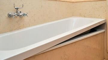 Cambiare vasca da bagno con doccia in ore senza opere murarie