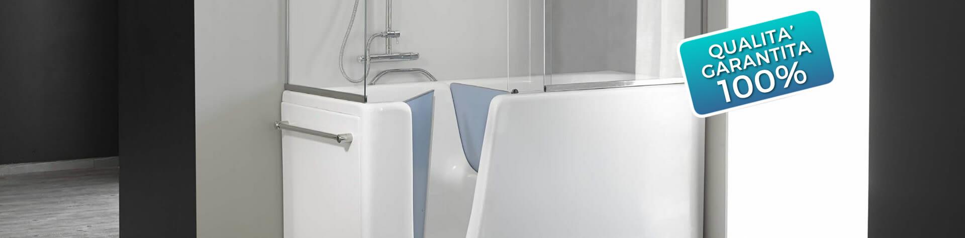 Mezza Vasca Con Box Doccia.Vasca Con Cabina Doccia Fresco Bagno Designs Mezza Vasca Con Box