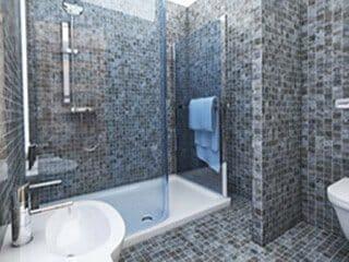 Sostituzione vasca con doccia italia docce bagni - Cabine doccia su misura ...