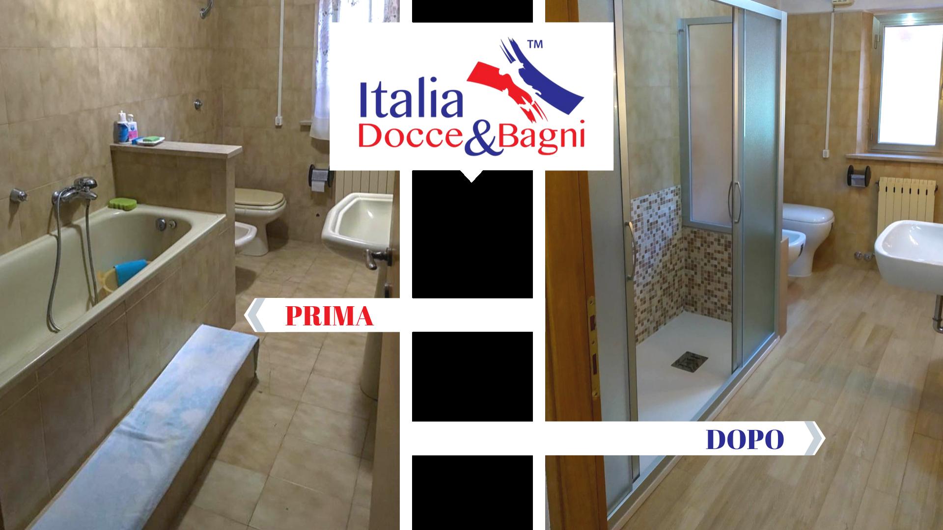 Sostituzione Vasca Con Doccia Italia Docce Bagni